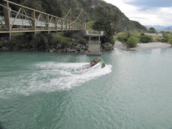 Wanaka River Journeys: jet boat
