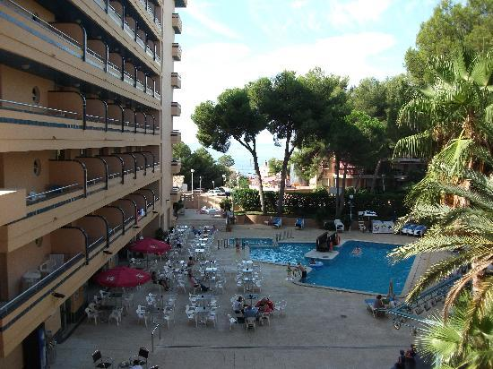 4R Playa Park: The view from our balcony