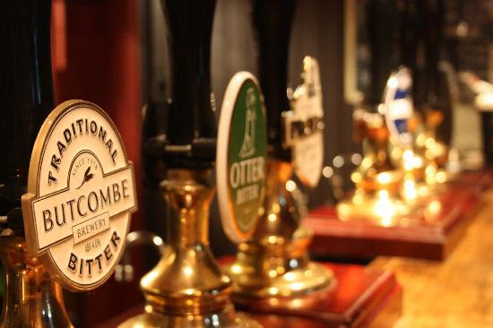 Tower Inn: real ales