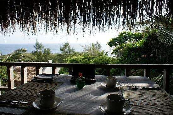 Cafe No Mar: view from breakfast table