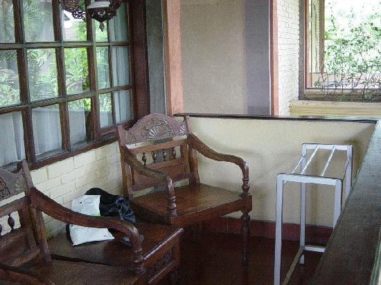 Bali Segara Hotel: balcony