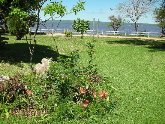 San Bernardino, Paraguay: Vista desde el comedor