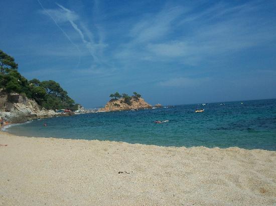 Silken Park Hotel San Jorge : l'une des deux plages de l'hôtel