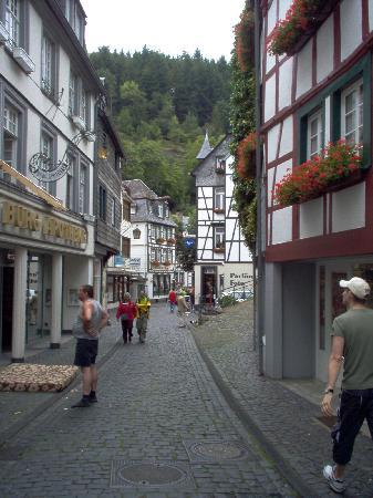 Monschau with its narrow streets