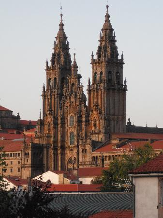 Santiago de Compostela, Spagna: La gialla Cattedrale di Santiago