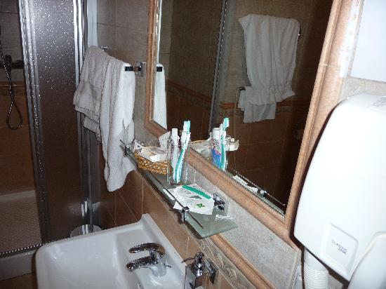 Alexandria: Deluxe Room, shower