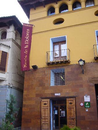 Calatayud, Spania: La fachada del hotel