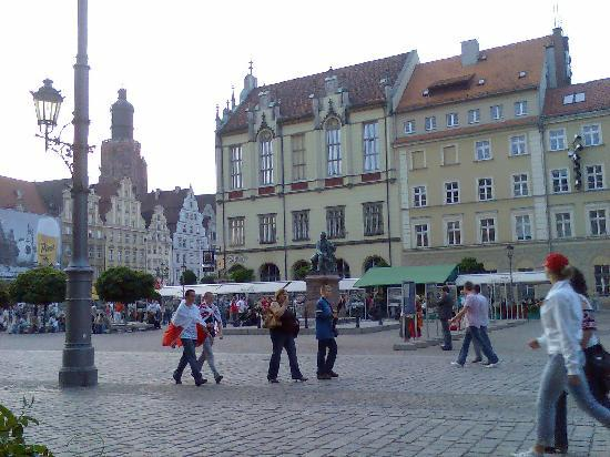 Wroclaw, Pologne : Piazza