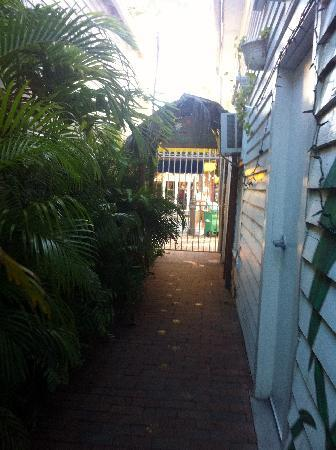 Smallest Bar Inn: walkway