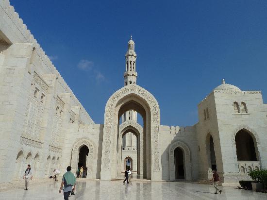 Gran mezquita del Sultán Qaboos: Innenhof