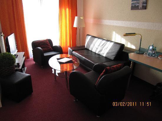 Hotel Deichgraf Cuxhaven: Renovierte Suite