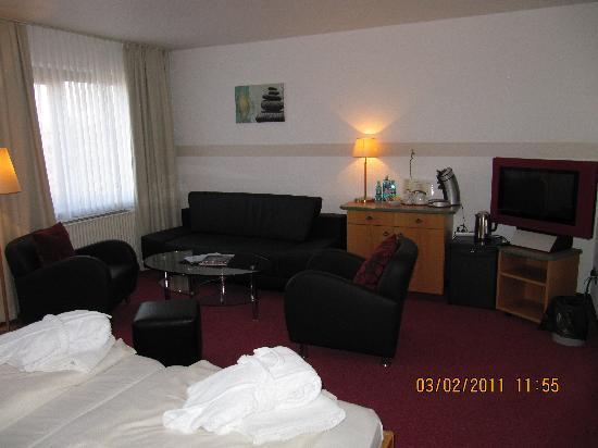 Hotel Deichgraf Cuxhaven: Renoviertes Familienzimmer