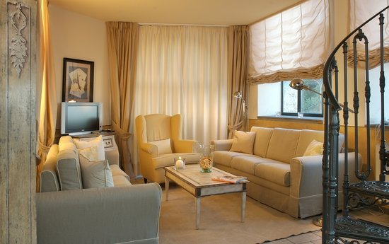 Hotel Villa Carlotta: De-luxe suite living-room