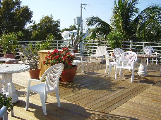 roof top patio picture of el patio motel key west tripadvisor