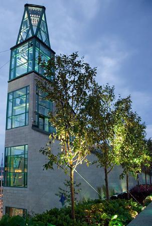 Le campanile du Musée de la civilisation