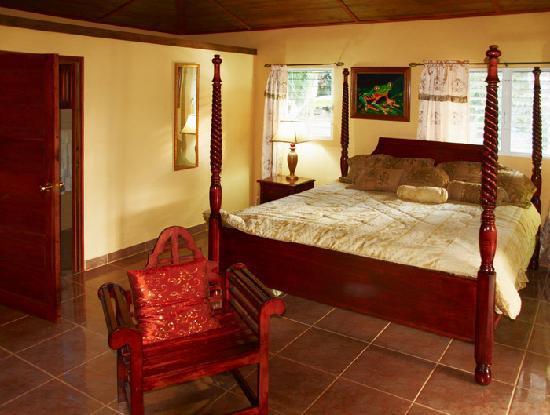 Inn the Bush Eco-Jungle Lodge: Noch ein Blick in das Zimmer des Bungalows