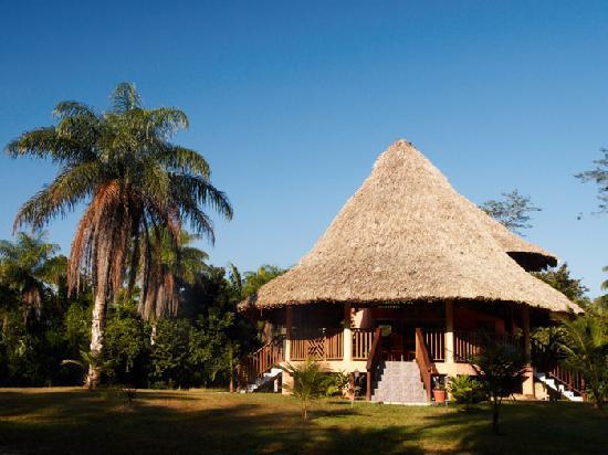 Inn the Bush Eco-Jungle Lodge: Das Restaurant