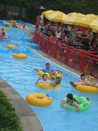Sesame Place : lazy river - my personal favorite!