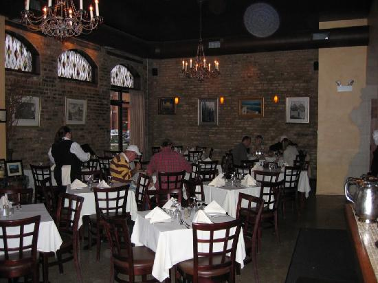 Anna Maria Pasteria: main dining room