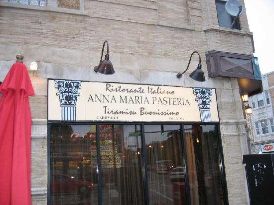 Anna Maria Pasteria: outside view