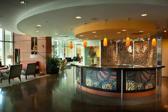 Hotel Indigo Asheville Downtown: Hotel Indigo- Asheville Downtown lobby