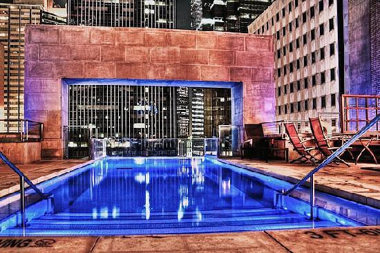 The Joule Dallas Pool Is Very Cool And Great Place To Meet People