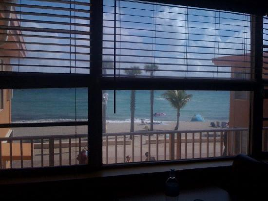 Riptide Hotel: view from room #27