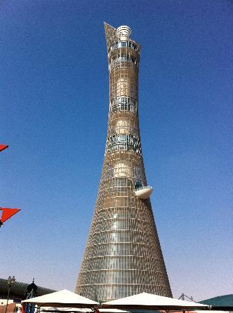 Doha, Qatar: La fiaccola olimpica