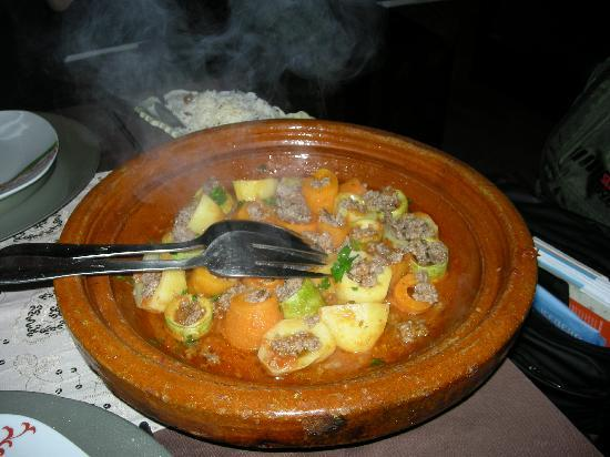Riad Davia: piatto della ottima cuoca Hafida