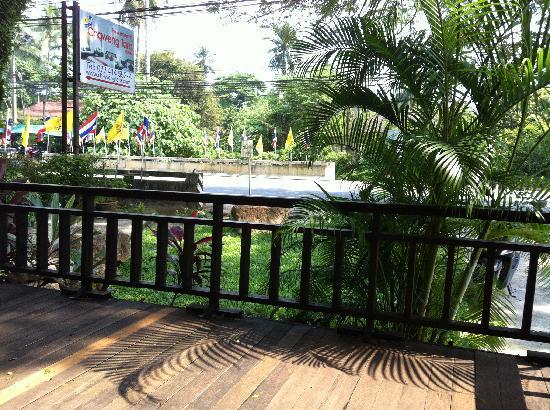 Chaweng Tara Resort: Terrasse