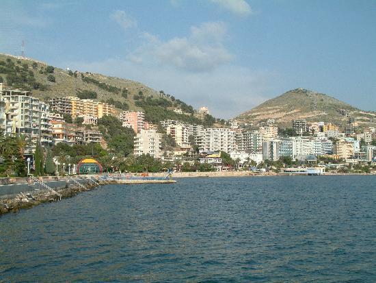 Sarande waterfront