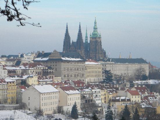Park Inn Hotel Prague: Vista del castello di Praga