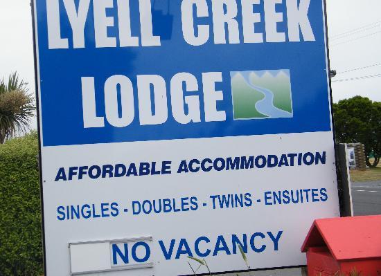 Lyell Creek Lodge : I am not a very photographer lol!