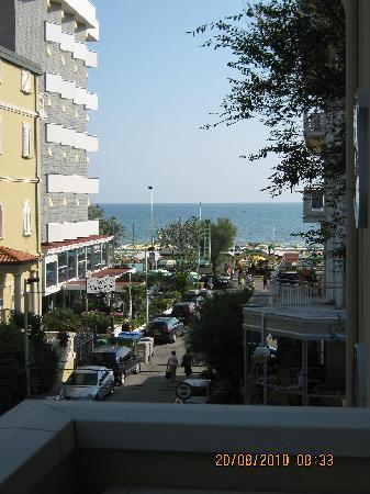 Hotel Nelson : Vista dalla nostra terrazza