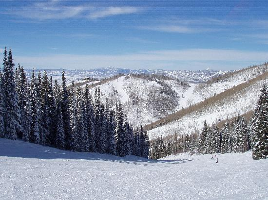Holiday Inn Steamboat Springs: View from the Ski Slope