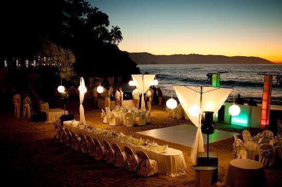 Hyatt Ziva Puerto Vallarta Esman S Set Up For Our Wedding