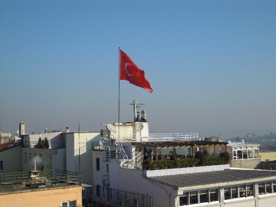 Hotel Mina: panorama dalla terrazza del rooftop