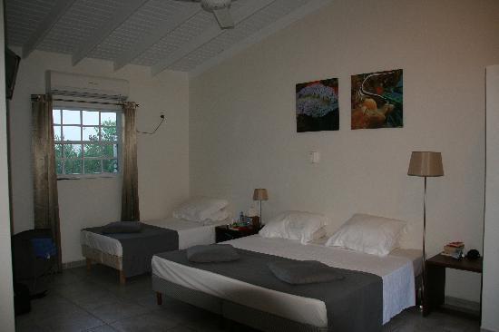 The Lizard Inn: our room