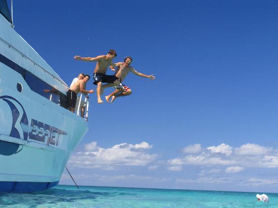 Some of the fun to be had on Reefjet