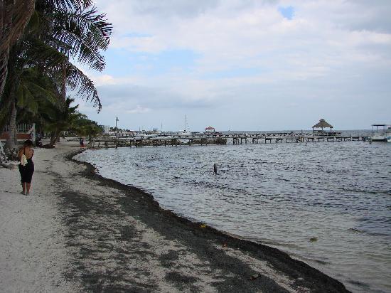 Banana Beach Resort: Hotel Beach on San Pedro