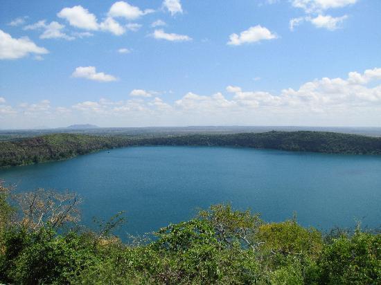 Moshi, Tanzania: Lake Challa