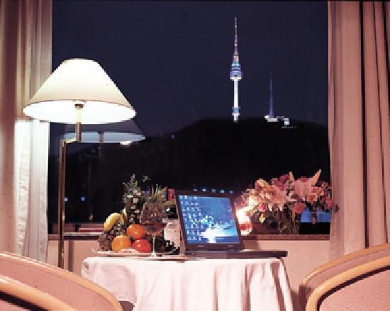Sejong Hotel: Namsan view