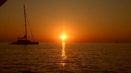 Mykonos, Yunani: Sunset