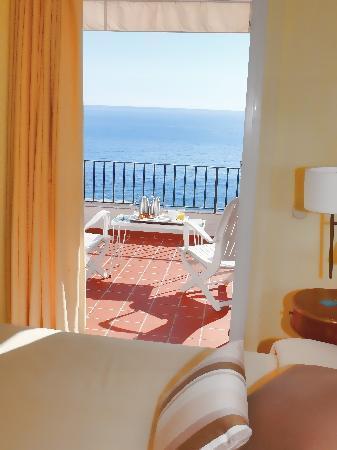 Hotel Sant Roc: Superior con terraza vista mar