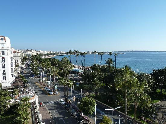 Hotel Barriere Le Majestic Cannes: View