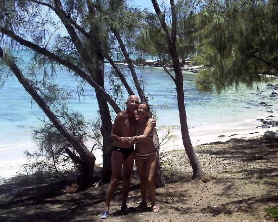Le Peninsula Bay Beach Resort: Ballade île aux cerfs