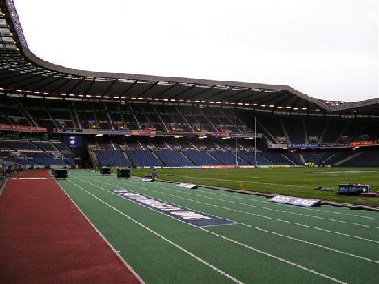 Leapark Hotel: Murrayfield about 30 mins. away