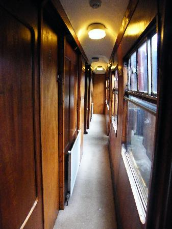 The Sidings Hotel: Narrow, but pretty corridor