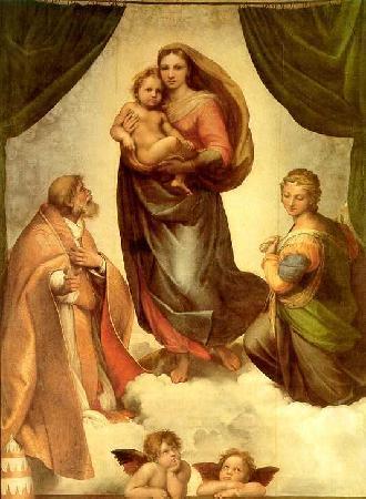 Gemäldegalerie Alte Meister: Sixtinische Madonna
