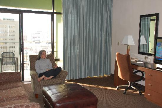 Two Room Suite With Terrace Picture Of Drury Plaza Hotel